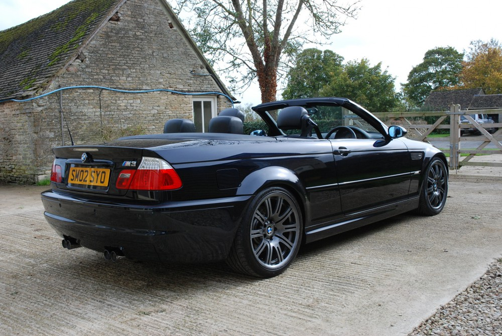 2002 bmw m3 smg convertible cotswold motorsport. Black Bedroom Furniture Sets. Home Design Ideas
