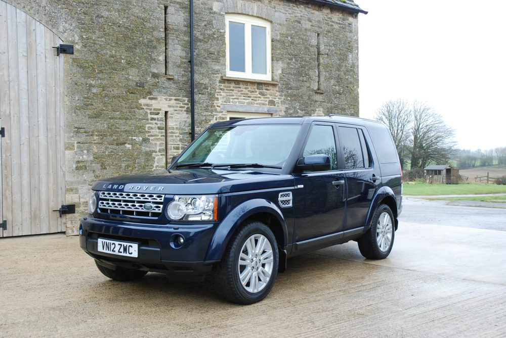 2012 Land Rover Discovery 4 Sdv6 Xs Command Shift